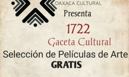 Cine de Morelia Gratis gaceta cultural 1722