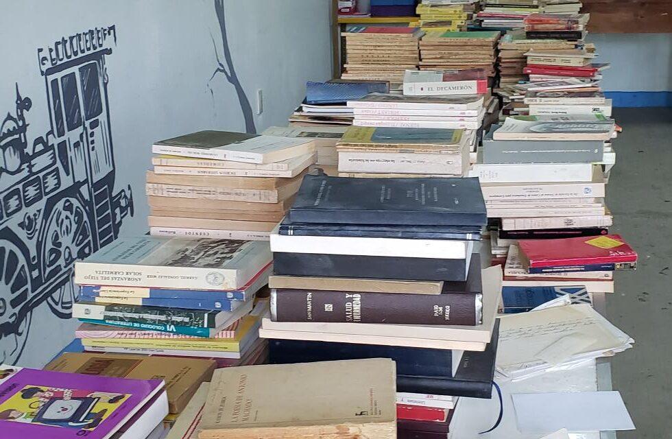 Donacion de libros en Oaxaca